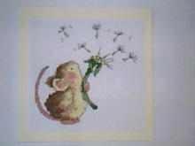 Card for (QUILTED) Mice E01