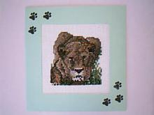 Card for (QUILTED) Jungle Animals E01
