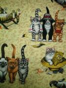 Fabric for (QUILTED) Cats & Kittens E01