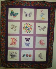 Photo of Zoe Ls quilt