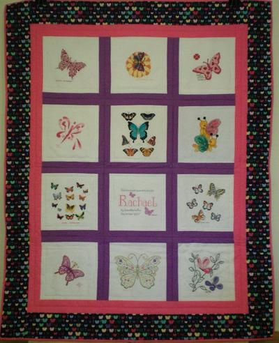 Photo of Rachaels quilt