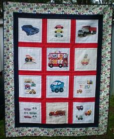 Photo of Toby Hs quilt