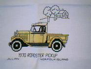 Any child cross stitch category: Vehicles