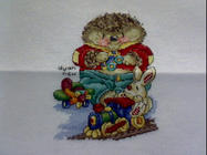 Any child cross stitch category: Miscellaneous
