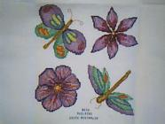 Any child cross stitch category: Flowers/Bugs