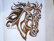 Any child cross stitch category: Animals - Horses