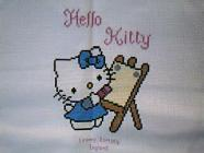 Any child cross stitch category: Cartoons Hello Kitty
