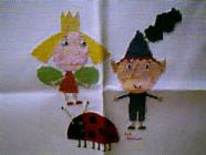 Any child cross stitch category: Cartoons Non-Disney