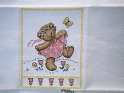 Cross stitch square for Christiana K's quilt