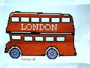 Any child cross stitch category: Travel/Holidays