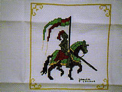 Cross stitch square